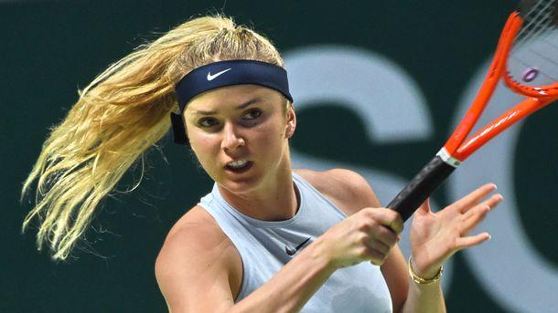 Француженка Гарсия одолела украинку Свитолину наитоговом турнире WTA вСингапуре