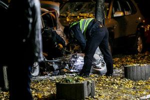 Журналистка заявила о двух погибших во время взрыва в Киеве