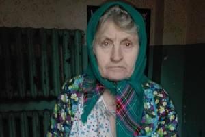 В Киеве нашли женщину в одном халате и без памяти