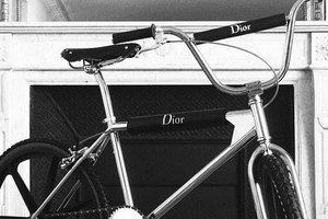 Dior представили фирменный велосипед