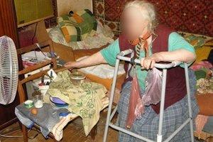 В Киеве женщина избила и ограбила 80-летнюю соседку