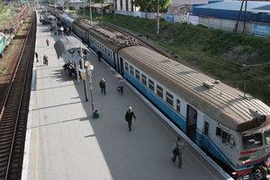 В Киеве изменится расписание движения городской электрички
