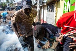 На выборах президента Кении произошла стрельба