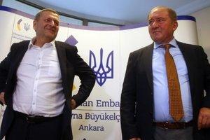 Стало известно время прибытия Умерова и Чийгоза в Украину