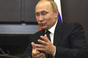 Кремль: Путин произвел пуск баллистических ракет
