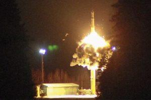 Появилось видео запуска баллистических ракет в России