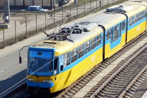 В Киеве на два дня закрывают станцию скоростного трамвая