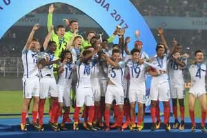 Англичане выиграли чемпионат мира среди футболистов до 17 лет