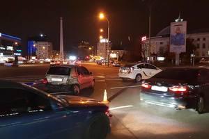 В Киеве полицейские устроили ДТП