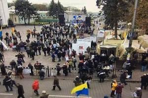 В полиции сообщили о большом количестве людей под Радой