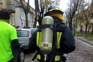 Киевский пожарный установил рекорд Украины во Львове