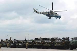 Самолеты, вертолеты, артиллерия: ВСУ в 2017 году получили 875 единиц техники