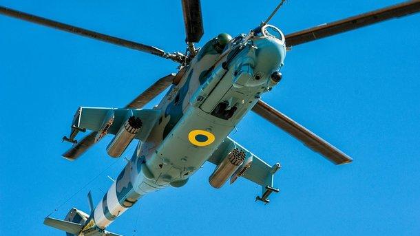 Ми-24. На сегодняшний день самый мощный ударный вертолет украинской авиации