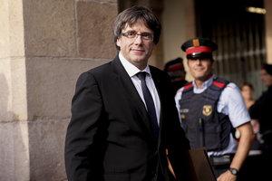 """Экс-глава Каталонии Пучдемон сделал заявление из """"убежища"""" в Бельгии"""