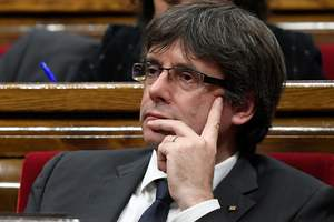 Заявление Пучдемона о будущем Каталонии: появилась реакция Мадрида