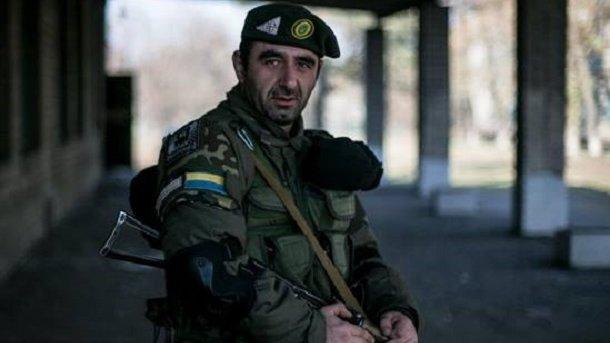 Украинские военные попали взасаду около  Донецкого аэропорта, умер  грузин-доброволец
