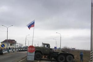 Россия возобновила пропуск через границу Крыма