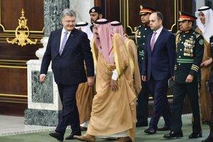 Порошенко встретился с королем Саудовской Аравии: о чем говорили