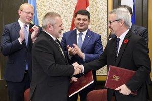 Украина и Канада договорились о сотрудничестве в освоении космоса