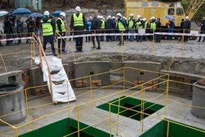 In Kiev, launched the second branch of the main manifold: it will receive effluent from all over the city
