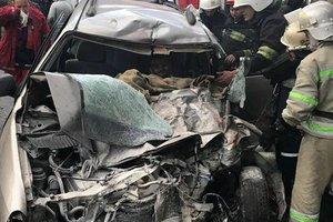 Во Львовской области рейсовый автобус попал в ДТП: семеро пострадавших