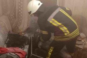 За сутки на пожарах в Черниговской области погибли два человека