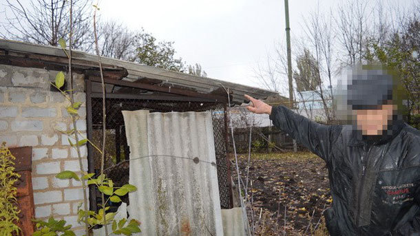 СБУ задержала наЛуганщине пособника террористов совзрывчаткой икартами позиций ВСУ