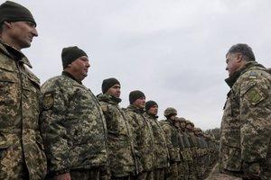 Порошенко раздал артиллеристам ордена: опубликованы фото