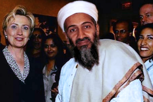 Новый фейк Кремля: фото Бен Ладена с Хиллари Клинтон оказалось фотошопом