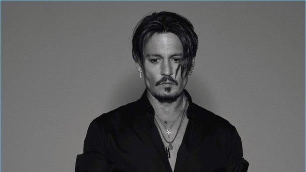 Джонни Депп снялся в эффектной фотосессии для журнала ... джонни депп сегодня