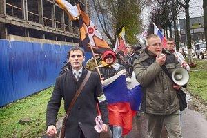 В Москве начались задержания участников марша неонацистов