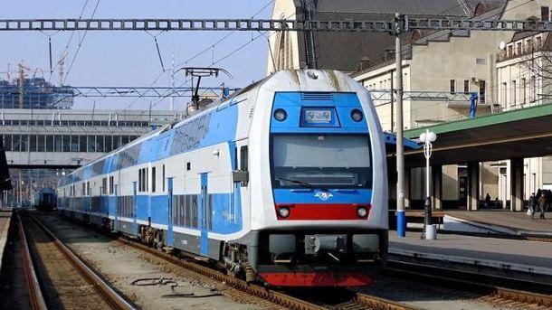 Из украинской столицы вТернополь— нановом двухэтажном скоростном поезде