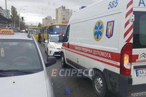 Смертельный наезд маршрутки в Киеве: погибший был полковником запаса СБУ - СМИ