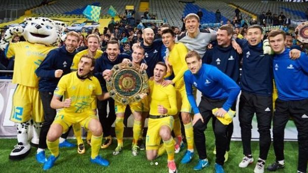 «Астана» в 4-й раз подряд стала чемпионом Казахстана