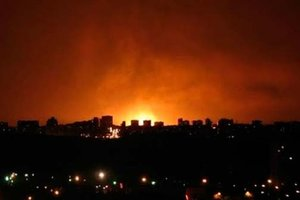 Донецк содрогнулся от артиллерийских залпов