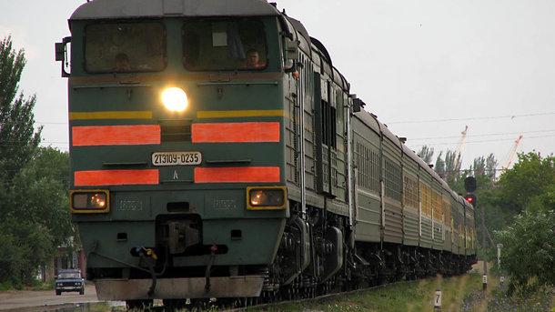 Поезд насмерть сбил мужчину. Фото: like.sumy.ua