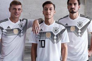 Сборная Германии презентовала форму на чемпионат мира 2018 года