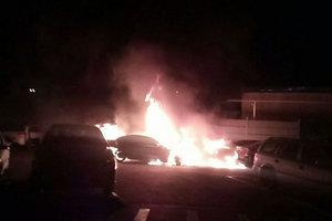 Ночные поджоги в Одессе: появились новые фото и подробности