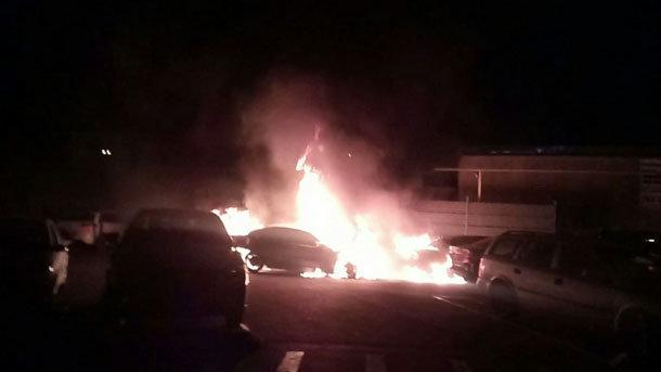 Массовое возгорание вОдессе: огонь уничтожил сразу 15 авто