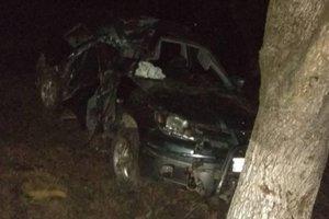 На Закарпатье внедорожник врезался в дерево: трое погибли, двое – в реанимации
