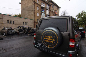 Ночные поджоги в Одессе: появилась реакция полиции и новые фото