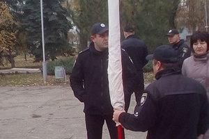 На митинге в Запорожье задержали провокаторов-коммунистов