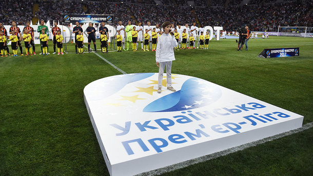 Футбольный патриотизм: украинских футболистов вынудили исполнять Гимн Украины перед каждой игрой
