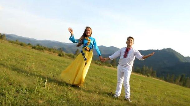 Кадр из видео украинской версии песни Despacito