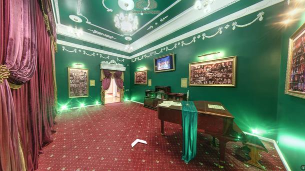 Минкульт иGoogle Украина презентовали 3D-туры пятью украинскими оперными театрами