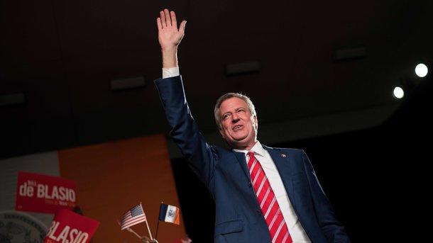 Главы города Нью-Йорка переизбрали на 2-ой срок