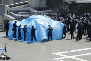 В Японии вышедший из-под контроля дрон врезался в толпу