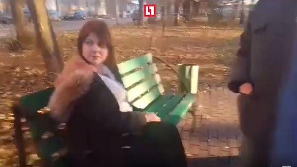 Беременная женщина отомстила мужу. Фото: скрин с видео