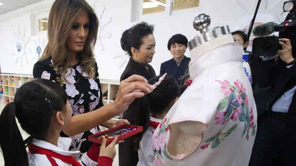 Мелания Трамп. Фото: AFP