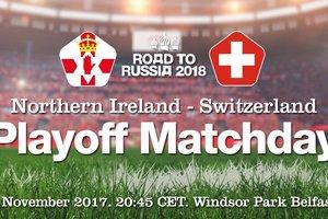 Где смотреть матч плей-офф ЧМ-2018 Северная Ирландия - Швейцария